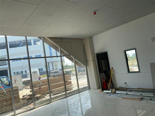 隔間/天花板施作工程