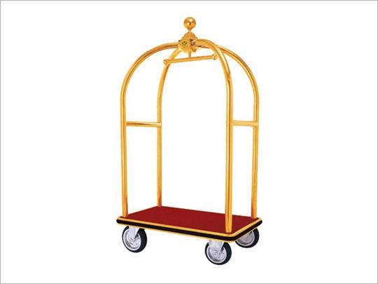大金頂行李車(鍍鈦/紅毯)/H303T