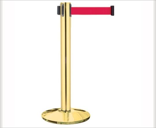 鍍鈦豪華加長型伸縮圍欄柱/E85AT-400
