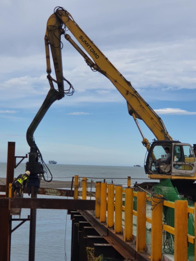 安全支撐、施工構台、施工便橋
