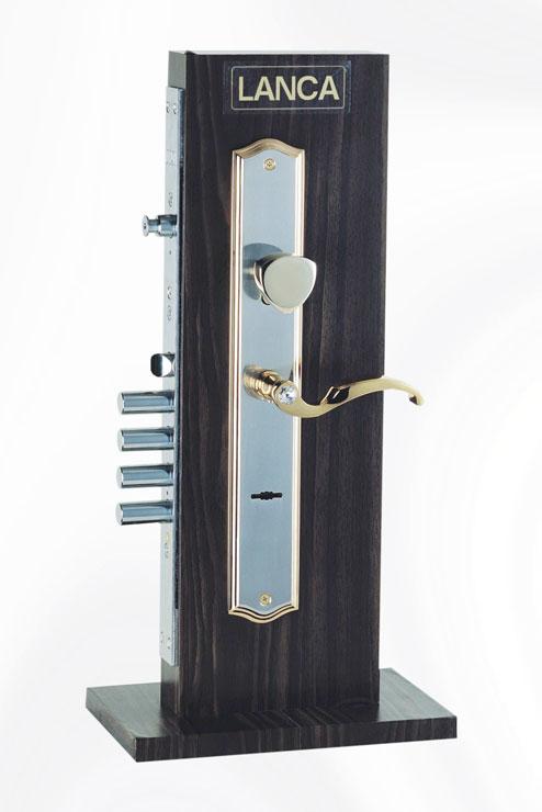 重型防暴鎖 可變換鑰匙