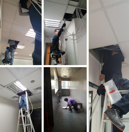 1- 辦公室CCTV工程