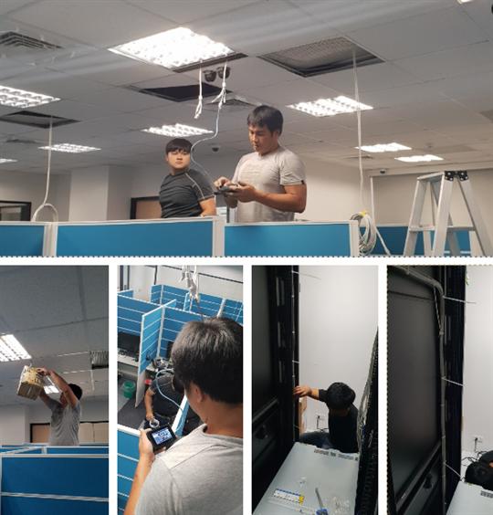 3- 辦公室CCTV工程