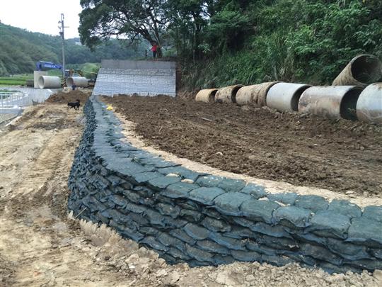 3- 霧峰農地規劃-擋土牆護坡