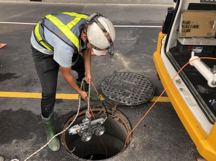 管線CCTV檢視施工