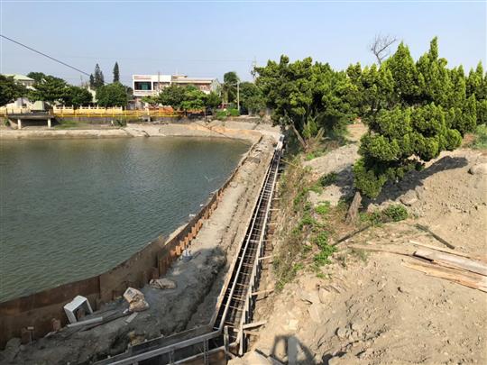 11- 彰化景觀磚、砌石擋土牆