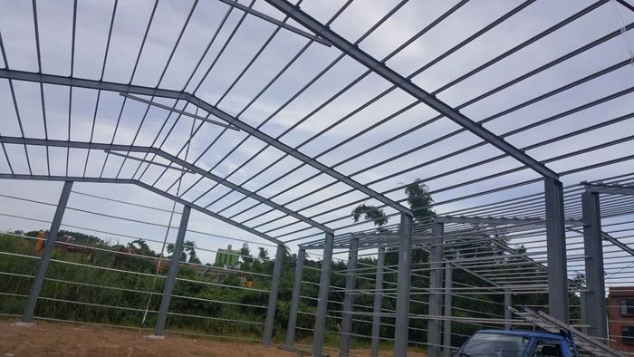 鋼構廠房增建工程