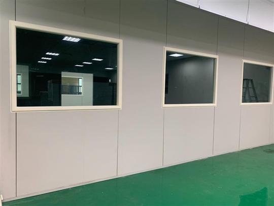 4- 防火隔間牆板