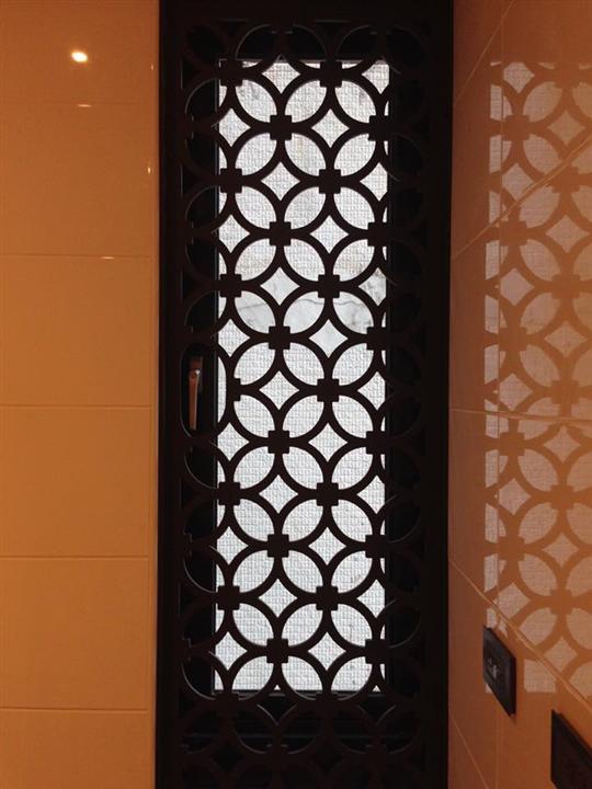 15- 造型鐵窗門花
