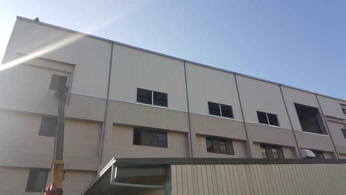 鋼構廠房增建