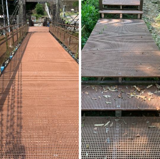 FRP橋梁、FRP木棧道