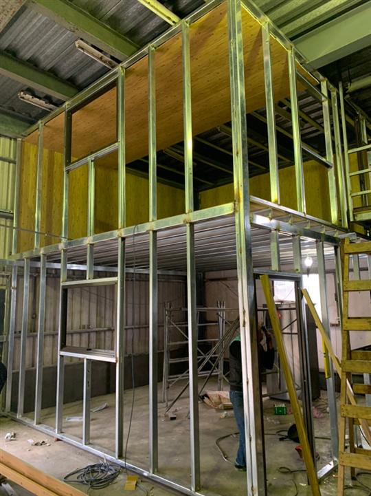 鐵架工程施工