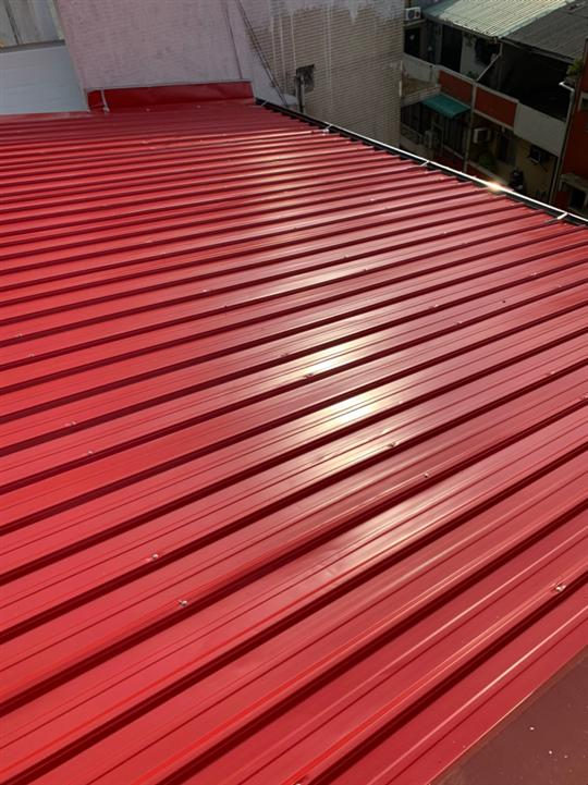 彩色鋼板施工