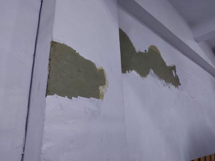 地下室牆壁EPOXY補牆與防水-1