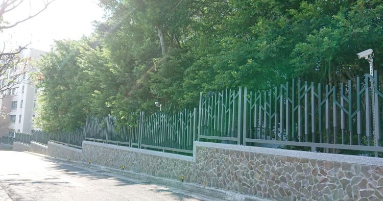 臺北城市科技大學 圍牆護欄