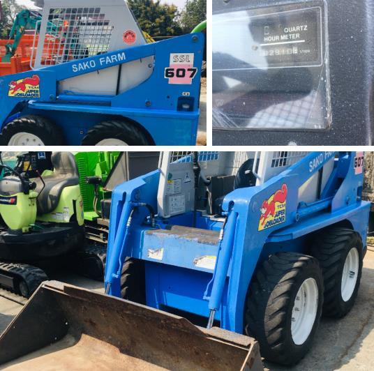 60- TCM 607 S/N56G00813-日本外匯中古鏟裝機