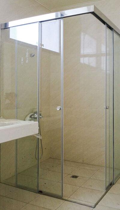 10- HSL系列無框橫拉淋浴門