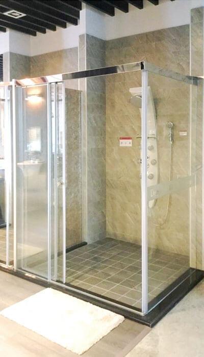 17- LS系列無框連動淋浴門