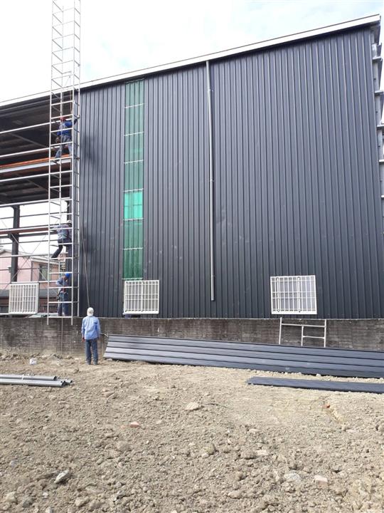 屏東鋼構廠房工程