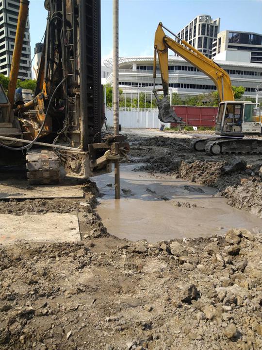 新北市連續壁基樁工程