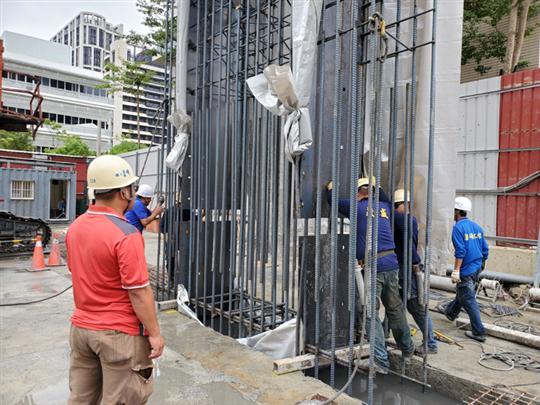 連續壁基樁工程-中悦380地號