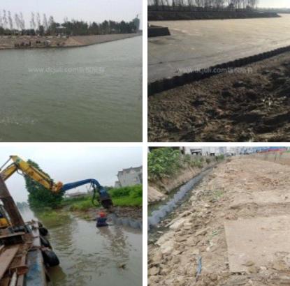 環保塑鋼板樁-河流生態護岸