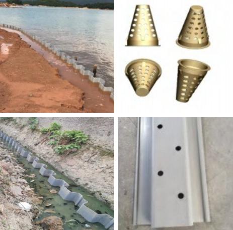 環保高分子複合塑鋼板樁