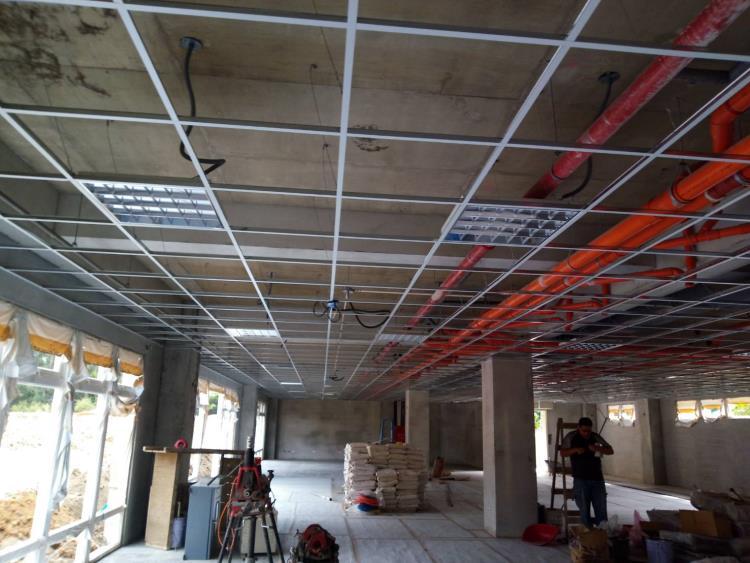 46-輕鋼架天花板、庫板天花板