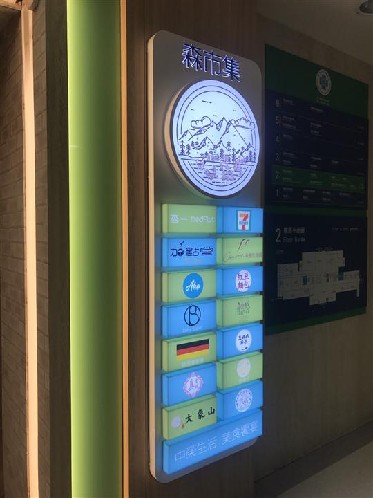 台中榮總商店街 / 造型看板燈箱