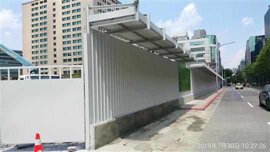安全走廊、工地安全圍籬