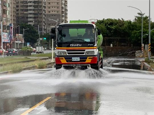 道路養護清洗
