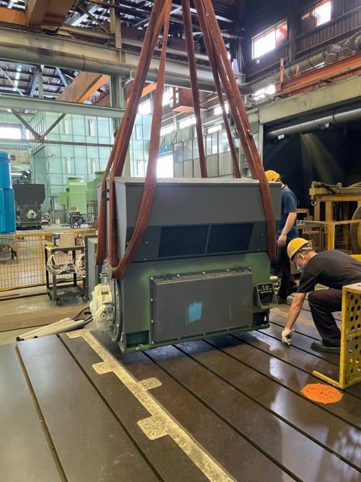 東元馬達2P x 1250HP x 6600V空壓機馬達 廠驗會式