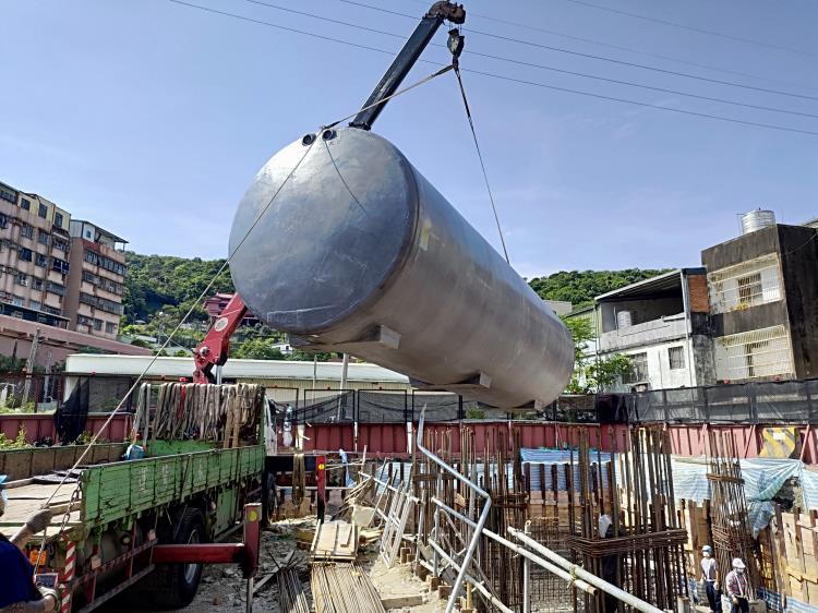 三鶯線捷運系統計畫統包工程LB03-2車站污水處理設備工程