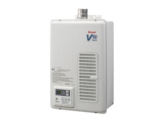 林內屋內型16L強制排氣熱水器