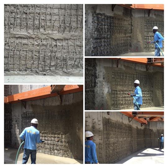連續壁負壓滲透結晶防水工程