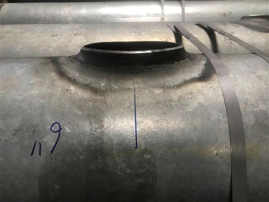 熱浸鍍鋅鋼管抽孔