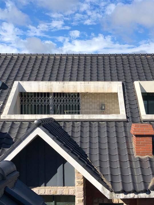 屋頂琉璃瓦防水工程完成