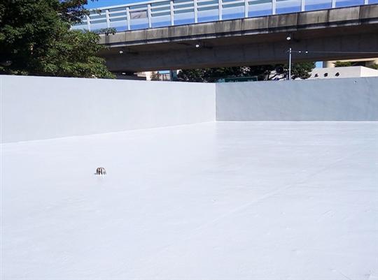 某超商頂樓地坪防水工程