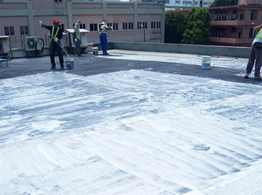 頂樓地坪防水工程