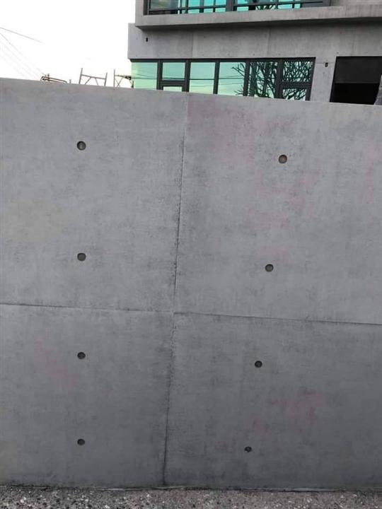 後製清水模外牆