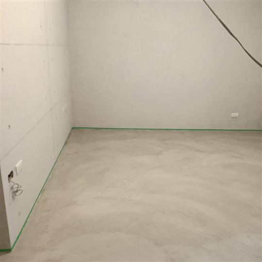 後製清水模牆面及地坪