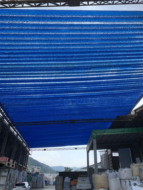 大面積流蘇網應用遮陽