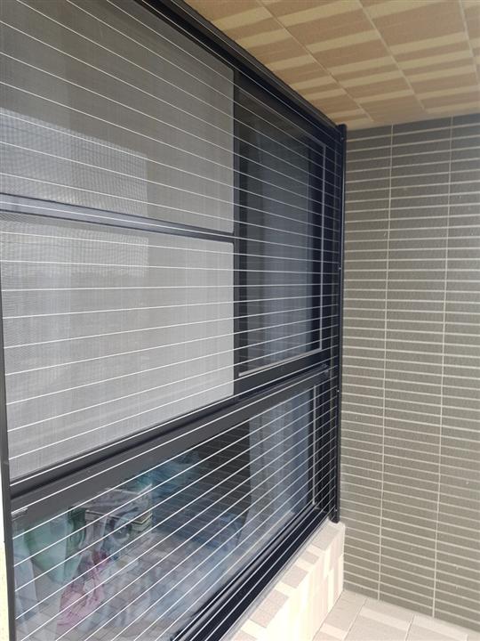 35-隱形鐵窗、隱形防墜窗、防護網