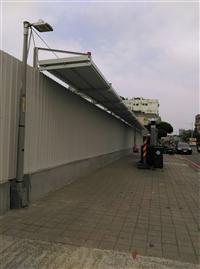 行人安全走廊/圍籬