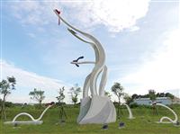 抽象造型雕塑