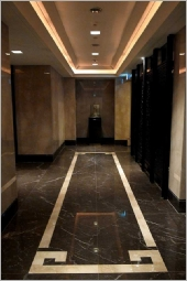 黑橄欖梯廳地坪、大理石地坪
