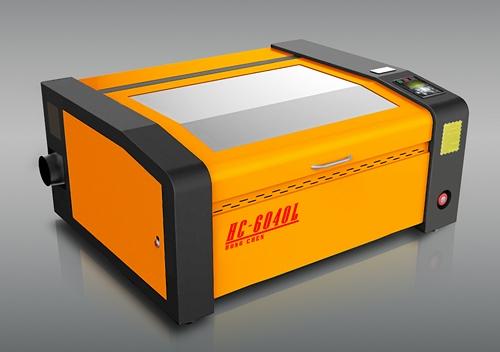 HC-6040L-雷射切雕機、封閉式CO2雷射管
