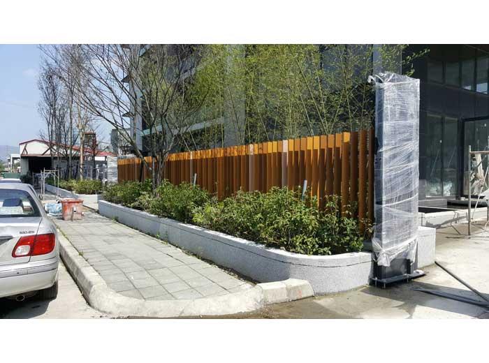 鋁格柵圍牆