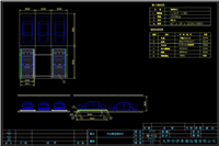 平面橫移貫穿機械式停車設備