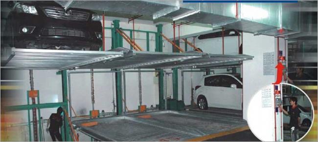 機械式雙層停車設備、機械式停車設計、機械式停車修改